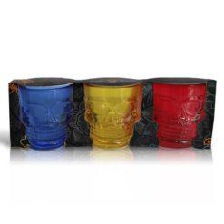 Set Tequileros Colores Calavera 3D Colores
