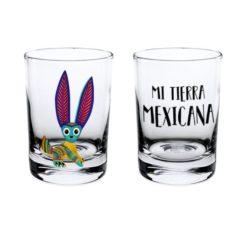 Shot Cristal Esencia Mexicana modelo Conejo Transparente