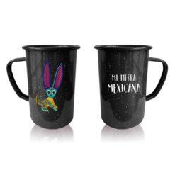 Tarro Peltre Esencia Mexicana modelo Conejo Negro