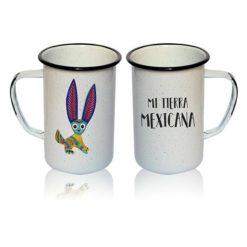 Tarro Peltre Esencia Mexicana modelo Conejo Blanco